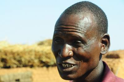Burkina Faso farmer