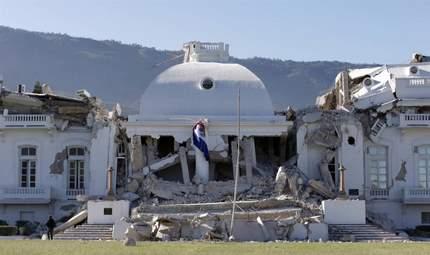 presidential palace Haiti