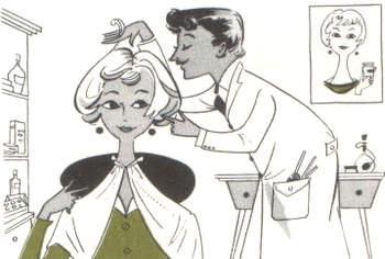 Italian hairdresser