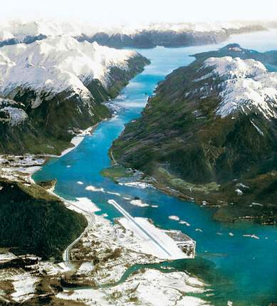 Juneau Alaska airstrip