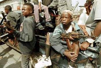 LRA child soldiers