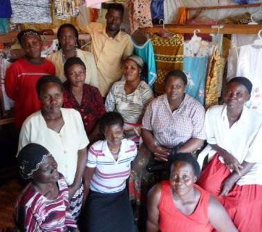 The Luganda Kulya womens group in Uganda