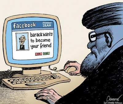 Obama makes friends with Iran via Facebook