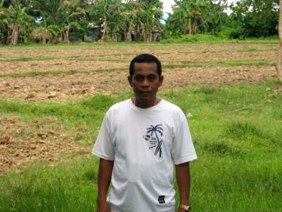 Roberto Doroni in the Philippines needed more farming supplies