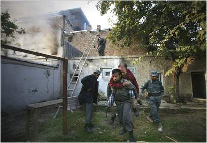 UN staff attacked in Kabul