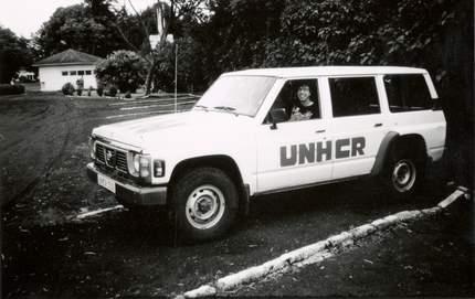 UNHCR car