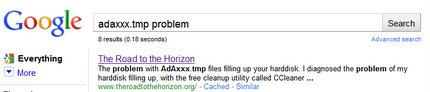 adaxxx.tmp problem