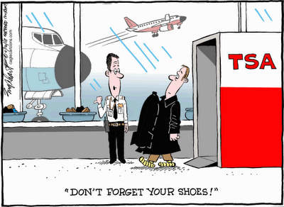 airport security cartoon