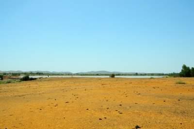 barren landscape Burkina Faso