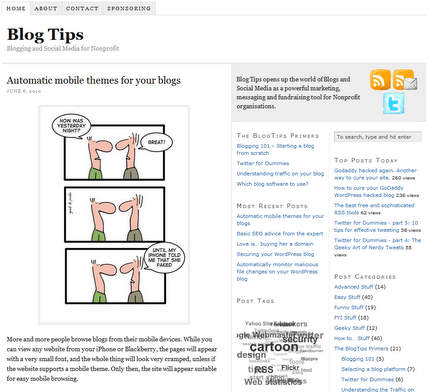 blogtip.org new layout