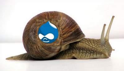 Drupal snail