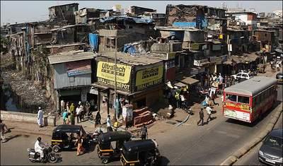 Garib Nagar slums