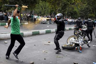 Iran election violence