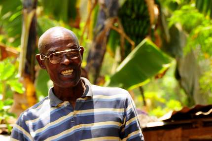 Edward Kenyan farmer