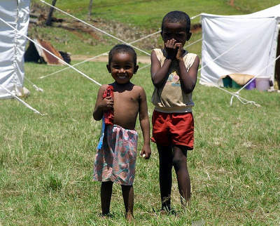 kids in Madagascar