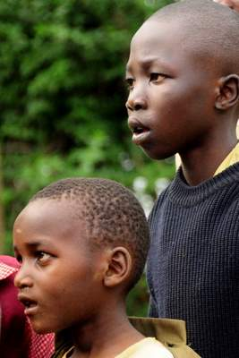 Kids in Kenya