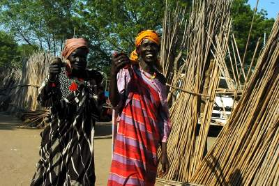 Ladies in Bor South Sudan