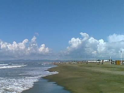 Fregene beach