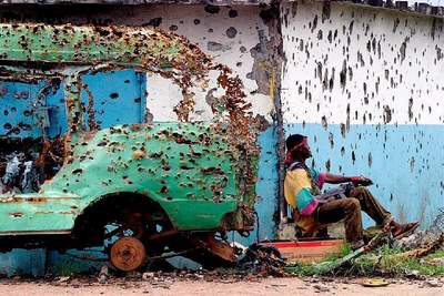 Liberia War
