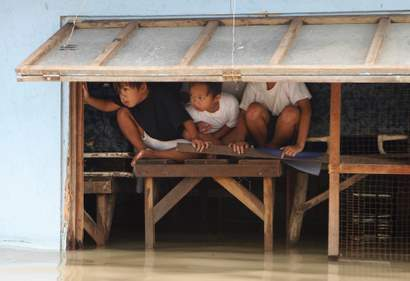 Manila Flooding Typhoon Ketsana
