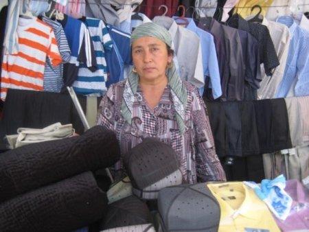 Mavlyuda Nuralieva in Tajikistan
