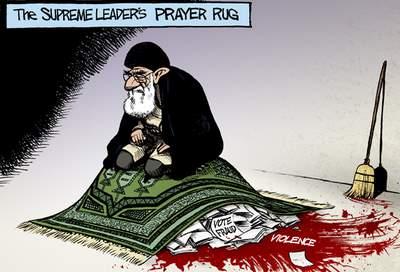 Iran Election Cartoon