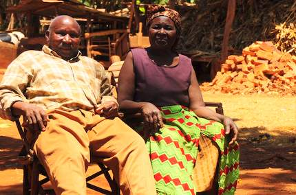 Kenyan old couple