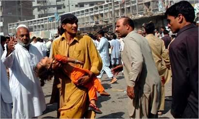 Peshawar suicide bomb