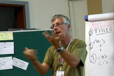 Peter Casier at Sharefair Addis