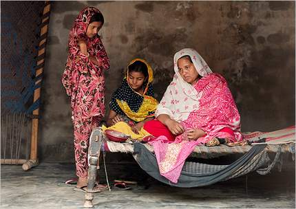 Saima Muhammad in Pakistan - her life changed due to microfinancing