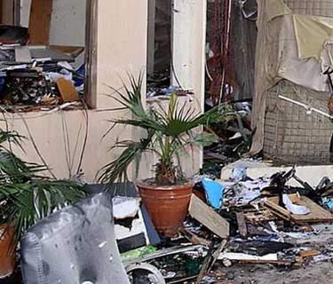 suicide bomb blast WFP office Islamabad Pakistan