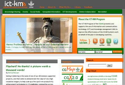 Taraaaa! ICTKMs new blog