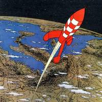 Tintin Moon Rocket