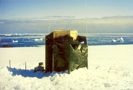 toilet on Antarctica