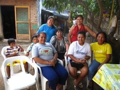 Virgin de Fatima group in Bolivia