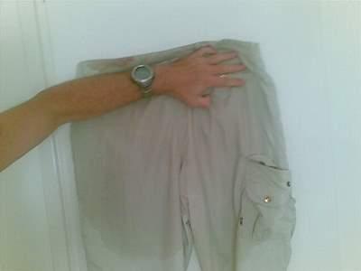 wet pants