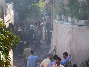 WFP office bombed in Islamabad Pakistan
